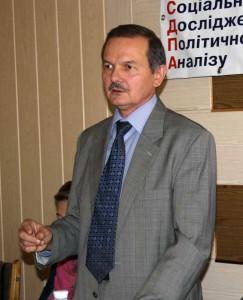 Володимир Кіпень представляє результати дослідження