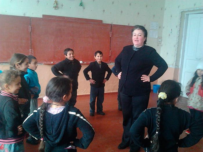 Діти-рома на канікулах у студії «Ягорі»
