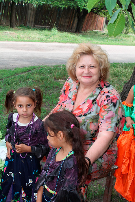 Ольга Руденко зі своїми підопічними